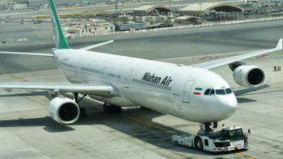 USA verhängen Sanktionen gegen chinesisches Unternehmen mit Verbindung zu iranischer Fluggesellschaft