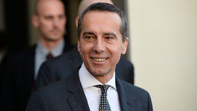 Österreichischer Ex-Kanzler macht Lobbyarbeit für KP-China