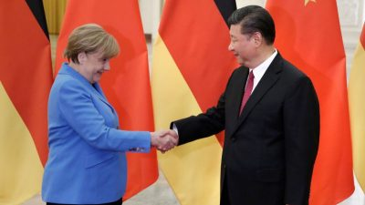 "Merkel hat den USA einen ""rüden Tritt ans Knie"" verpasst"
