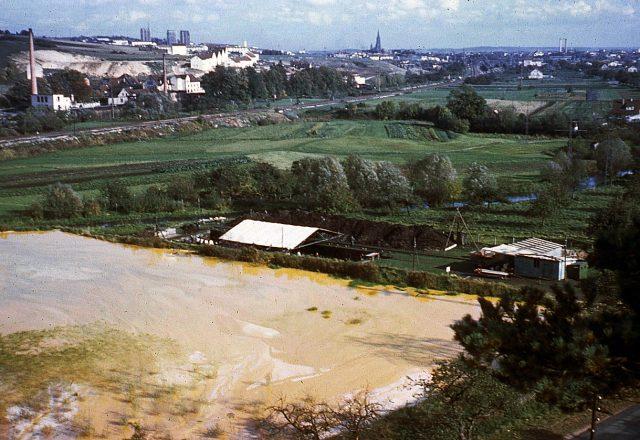 Ausgrabung von 1960 im Blautal