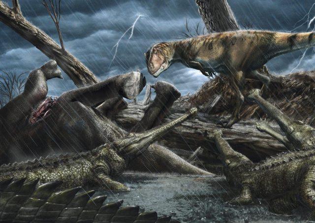 Dinosaurier in der Sahara der Kreidezeit