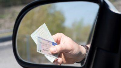 Bundesweit gaben fast 36.000 Menschen 2019 freiwillig Führerschein ab
