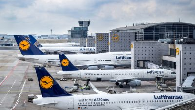 """Großeinsatz in Frankfurt: Terminal am Flughafen zeitweise gesperrt – """"Allahu Akbar""""-Rufe"""