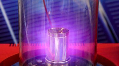 """""""Heiße Luft"""": Plasma-Triebwerk lässt 1kg Stahlkugel fliegen"""