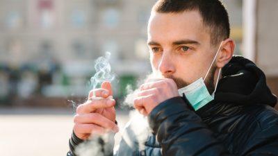 Risikogruppe für COVID-19: Raucher haben vermehrt ACE2-Rezeptoren