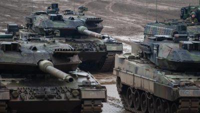 Rheinmetall will Panzergeschäft stark ausbauen – Rüstungsausgaben steigen weltweit