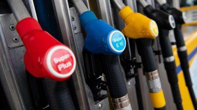 Benzinpreise erreichen Drei-Monats-Hoch