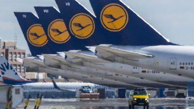 Verband: Ohne Staatshilfe würde Hälfte der Airlines im Juni Konkurs anmelden