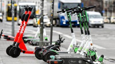 """E-Roller können Versprechen nicht halten: """"Keine Patentlösung für alte Probleme"""""""