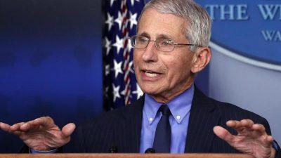 US-Mediziner Fauci warnt vor 100.000 Corona-Infektionen pro Tag