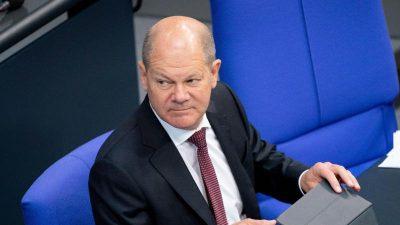 Kritik an Reformplan von Scholz für Bundesfinanzaufsicht
