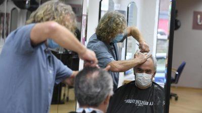 Sicherheit geht vor: Friseursalons in Coronazeiten