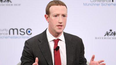 Geleaktes Video: Zuckerberg besorgt über Corona-Impfstoffe – und verstößt damit gegen Facebook-Richtlinien