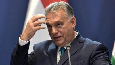 Orban kritisiert EU-Abgeordneten nach Teilnahme an Sex-Party scharf