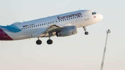 Sardinien: Eurowings-Flieger musste umkehren – Flughafen war noch geschlossen