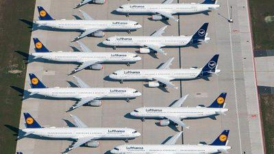 22.000 Vollzeitstellen zu viel: Lufthansa beginnt mit Jobabbau in Verwaltung und Führungsetagen