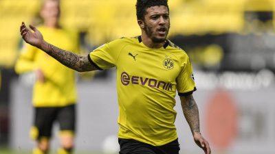 Haaland und Dahoud fehlen: Sancho und Can starten für BVB