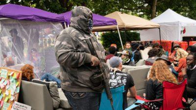 """Ein Blick nach Seattle: In """"autonomer Zone"""" herrscht Gesetzlosigkeit"""