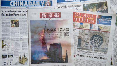 Peking verstärkt Kampagne zur Neugestaltung der globalen Nachrichtenlandschaft