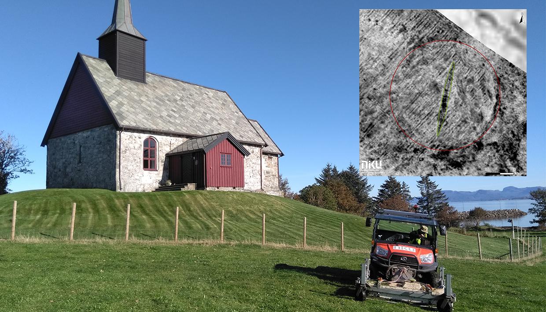 Neben einer mittelalterlichen Kirche: Erneut über 1.000 Jahre altes Schiffsgrab in Norwegen entdeckt