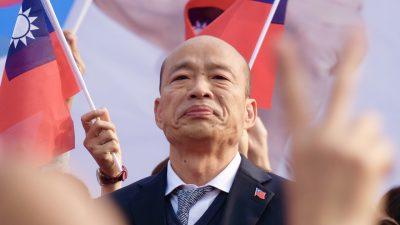 Taiwan: KP-freundlicher Bürgermeister von Kaohsiung abgewählt – Hongkong-Aktivisten jubeln