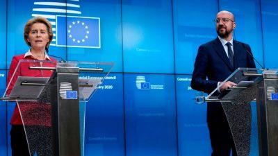 "EU-China-Videokonferenz: EU-Spitzen zeigen sich gegenüber Peking ""ernsthaft besorgt"" über Hongkong-Gesetz"
