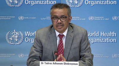 Neuer Pandemie-Ablauf veröffentlicht: WHO nicht von Peking, sondern von eigenem Büro zuerst informiert
