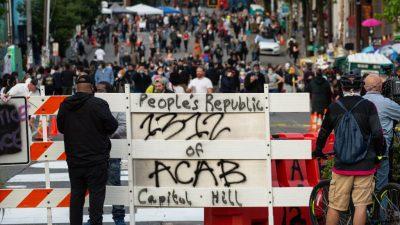 """""""Heimische Terroristen haben Seattle übernommen"""": Trump fordert Auflösung der """"autonomen Zone"""""""