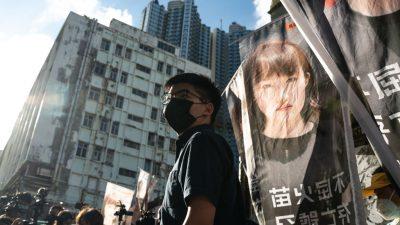 """China will """"nationale Sicherheitsbehörde"""" in Hongkong einrichten"""