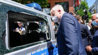 Zwei Jugendliche wegen Beteiligung an Stuttgarter Krawallnacht zu Haftstrafe verurteilt