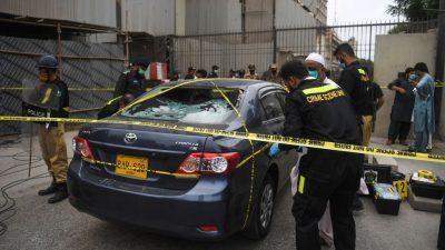 Pakistan: Vier Tote bei bewaffnetem Angriff auf Börse in Karachi
