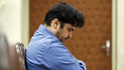 """Wegen """"Verdorbenheit auf Erden"""" schuldig gesprochen: Iranischer Oppositioneller Sam zum Tode verurteilt"""