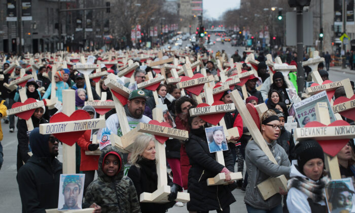 """Schwarzes Leben ist für """"Black Lives Matter"""" nicht wichtig"""