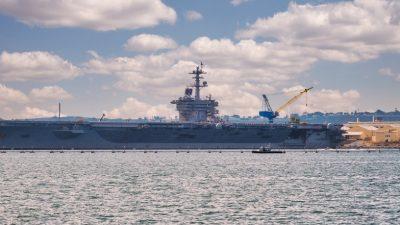 USS Theodore Roosevelt: Junge COVID-19 Patienten entwickeln auch nach milder Infektion Antikörper