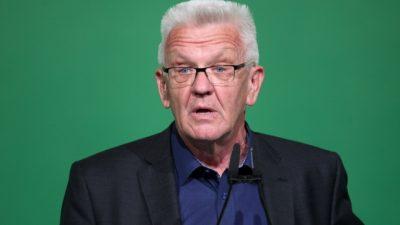 Wuhan-Lungenseuche: Kretschmann sieht Deutschland für zweite Corona-Welle gut gerüstet