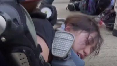 """""""Bitte steht uns bei!"""" – Hongkongs Demokratie-Teenager werfen Polizei Vergewaltigungen vor"""
