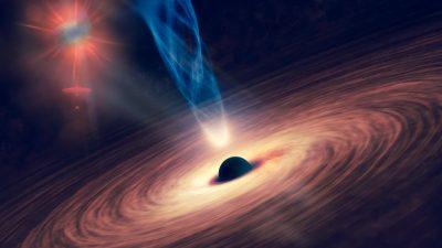 Forscher finden Hinweise auf Dutzende Galaxien, die um zwei Schwarze Löcher kreisen