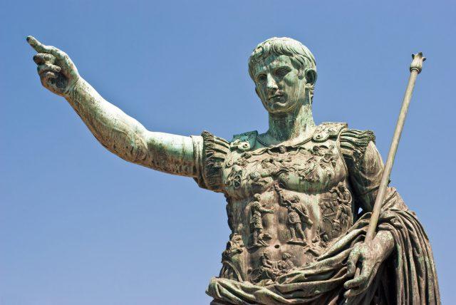 Kaiser Augustus profitierte von Vulkanausbruch in Alaska