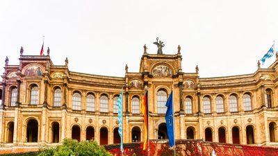 Ausschusssitzung im Bayerischen Landtag zur Finanzierung der umstrittenen Konfuzius-Institute