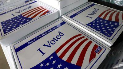 Abstimmung in Krisenzeit: Vorwahlen in mehreren US-Bundesstaaten