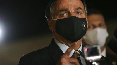 Brasilien: Bolsonaro droht mit Rückzug aus WHO