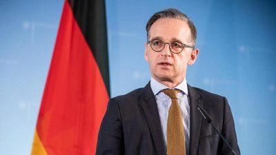 Maas redet mit Netanjahu über Annexionspläne