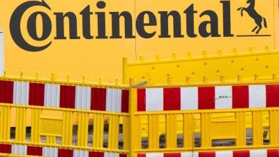 Continental:Gespräche über Kündigungen sehr wahrscheinlich – 20.000 Stellen bis 2029 betroffen