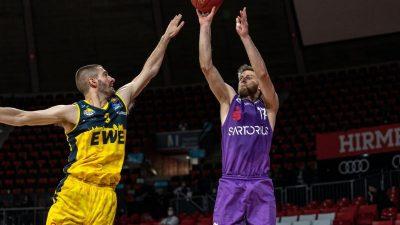 EWE Baskets Oldenburg besiegen BG Göttingen