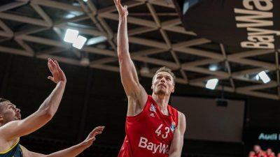Bayern-Basketballer frustriert nach Dämpfer
