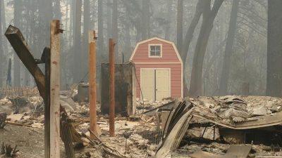 Paradise-Brände: Stromversorger gibt fahrlässige Tötung zu