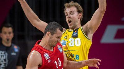 BBL-Turnier: Bayern trotzig nach Basketball-Niederlage