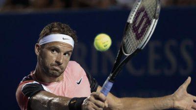 Bulgariens Tennisstar Dimitrow mit Coronavirus infiziert