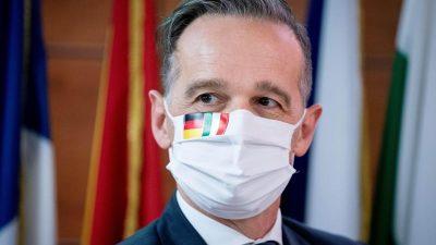 """Maas wirbt in Italien für """"solidarischen Aufbruch"""" Europas"""