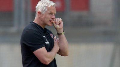 "Laut ""Bild"": Nürnbergs Trainer Keller vor dem Aus"